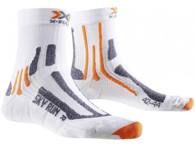X-Bionic Sky Run Two Socks Men White